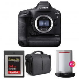 Canon EOS 1D X Mark III + SanDisk 64GB Extreme PRO CFexpress Type B + 2 Canon LP-E19 + Sac