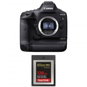Canon EOS 1D X Mark III + SanDisk 128GB Extreme PRO CFexpress Type B | 2 Years Warranty