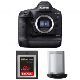 Canon EOS 1D X Mark III + SanDisk 128GB Extreme PRO CFexpress Type B + Canon LP-E19 | 2 Years Warranty