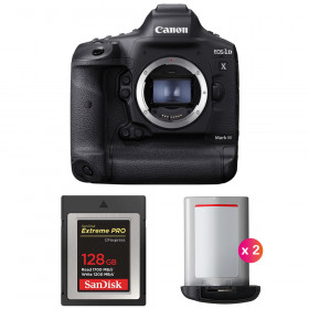 Canon EOS 1D X Mark III + SanDisk 128GB Extreme PRO CFexpress Type B + 2 Canon LP-E19 | 2 Years Warranty