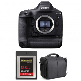 Canon EOS 1D X Mark III + SanDisk 128GB Extreme PRO CFexpress Type B + Bag | 2 Years Warranty