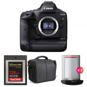 Canon EOS 1D X Mark III + SanDisk 128GB Extreme PRO CFexpress Type B + 2 Canon LP-E19 + Sac