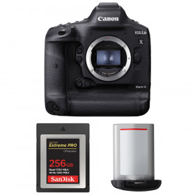 Canon EOS 1D X Mark III + SanDisk 256GB Extreme PRO CFexpress Type B + Canon LP-E19 | 2 Years Warranty