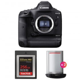 Canon EOS 1D X Mark III + SanDisk 256GB Extreme PRO CFexpress Type B + 2 Canon LP-E19 | 2 Years Warranty