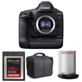 Canon EOS 1D X Mark III + SanDisk 256GB Extreme PRO CFexpress Type B + Canon LP-E19 + Sac