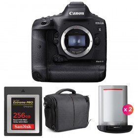 Canon EOS 1D X Mark III + SanDisk 256GB Extreme PRO CFexpress Type B + 2 Canon LP-E19 + Sac