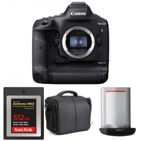 Canon EOS 1D X Mark III + SanDisk 512GB Extreme PRO CFexpress Type B + Canon LP-E19 + Sac