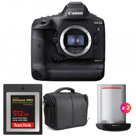 Canon EOS 1D X Mark III + SanDisk 512GB Extreme PRO CFexpress Type B + 2 Canon LP-E19 + Sac