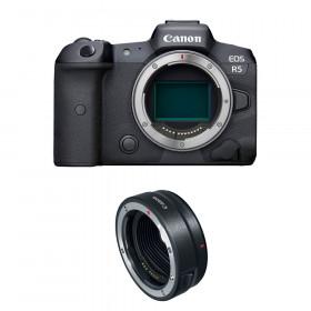 Canon EOS R5 + EF-EOS R | 2 años de garantía
