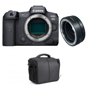 Canon EOS R5 + EF-EOS R + Bolsa | 2 años de garantía