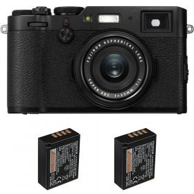 Fujifilm X100F Negro + 2 Fujifilm NP-W126S | 2 años de garantía