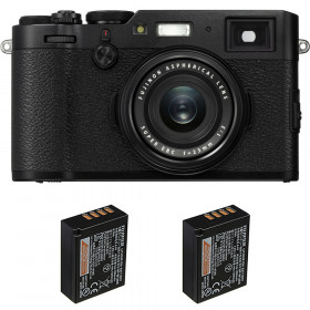 Fujifilm X100F Noir + 2 Fujifilm NP-W126S