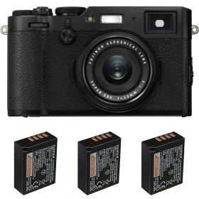 Fujifilm X100F Noir + 3 Fujifilm NP-W126S