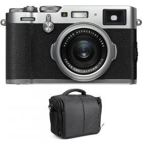 Fujifilm X100F Silver + Bolsa | 2 años de garantía