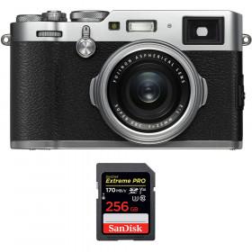 Fujifilm X100F Silver + SanDisk 256GB Extreme Pro UHS-I SDXC 170 MB/s | 2 años de garantía