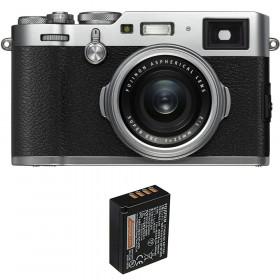 Fujifilm X100F Silver + 1 Fujifilm NP-W126S