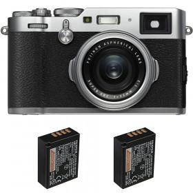 Fujifilm X100F Silver + 2 Fujifilm NP-W126S
