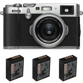 Fujifilm X100F Silver + 3 Fujifilm NP-W126S | 2 años de garantía