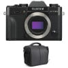 Fujifilm X-T30 Negro + Bolsa | 2 años de garantía