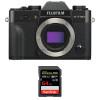Fujifilm X-T30 Negro + SanDisk 64GB Extreme Pro UHS-I SDXC 170 MB/s   2 años de garantía
