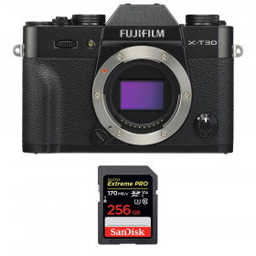 Fujifilm X-T30 Negro + SanDisk 256GB Extreme Pro UHS-I SDXC 170 MB/s