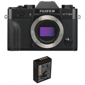 Fujifilm X-T30 Noir + 1 Fujifilm NP-W126S