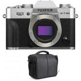 Fujifilm X-T30 Silver + Bag | 2 Years Warranty