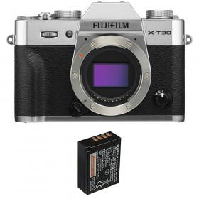 Fujifilm X-T30 Silver + 1 Fujifilm NP-W126S