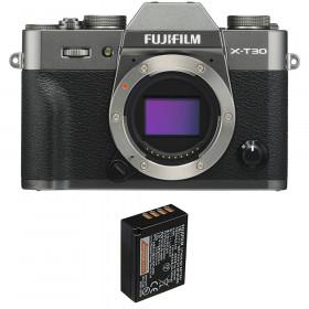 Fujifilm X-T30 Charcoal + 1 Fujifilm NP-W126S