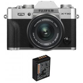 Fujifilm X-T30 + XC 15-45mm f/3.5-5.6 OIS PZ Silver + 1 Fujifilm NP-W126S | 2 Years Warranty