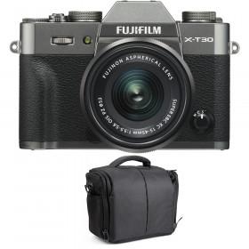 Fujifilm X-T30 + XC 15-45mm f/3.5-5.6 OIS PZ Charcoal + Bag | 2 Years Warranty