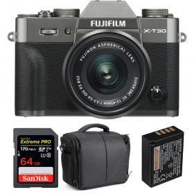 Fujifilm X-T30 + XC 15-45mm f/3.5-5.6 OIS PZ Charcoal + SanDisk 64GB UHS-I SDXC 170 MB/s + NP-W126S + Bolsa