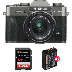 Fujifilm X-T30 + XC 15-45mm f/3.5-5.6 OIS PZ Charcoal + SanDisk 128GB UHS-I SDXC 170 MB/s + 2 NP-W126S