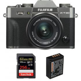 Fujifilm X-T30 + XC 15-45mm f/3.5-5.6 OIS PZ Charcoal + SanDisk 256GB UHS-I SDXC 170 MB/s + NP-W126S | 2 Years Warranty