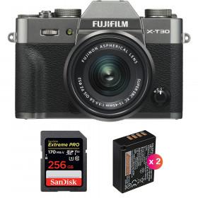 Fujifilm X-T30 + XC 15-45mm f/3.5-5.6 OIS PZ Charcoal + SanDisk 256GB UHS-I SDXC 170 MB/s + 2 NP-W126S