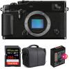 Fujifilm X-PRO3 Nu Noir + SanDisk 256GB Extreme Pro UHS-I SDXC 170 MB/s + 2 Fujifilm NP-W126S + Sac | Garantie 2 ans