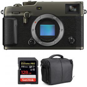 Fujifilm X-PRO3 Cuerpo Dura Black + SanDisk 128GB Extreme Pro UHS-I SDXC 170 MB/s + Bolsa