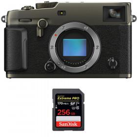 Fujifilm X-PRO3 Cuerpo Dura Black + SanDisk 256GB Extreme Pro UHS-I SDXC 170 MB/s