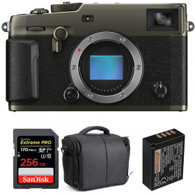 Fujifilm X-PRO3 Cuerpo Dura Black + SanDisk 256GB Extreme Pro UHS-I SDXC 170 MB/s + NP-W126S + Bolsa