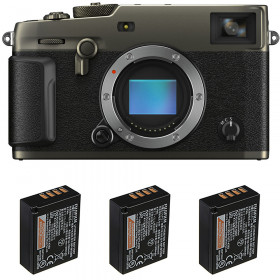 Fujifilm X-PRO3 Cuerpo Dura Black + 3 Fujifilm NP-W126S