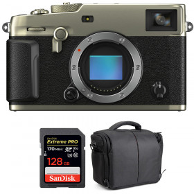 Fujifilm X-Pro3 Cuerpo Dura Silver + SanDisk 128GB Extreme Pro UHS-I SDXC 170 MB/s + Bolsa