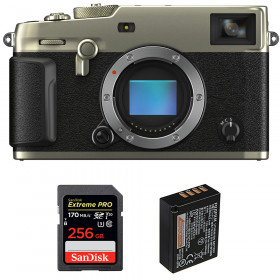 Fujifilm X-Pro3 Cuerpo Dura Silver + SanDisk 256GB Extreme Pro UHS-I SDXC 170 MB/s + Fujifilm NP-W126S