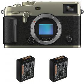 Fujifilm X-Pro3 Nu Dura Silver + 2 Fujifilm NP-W126S