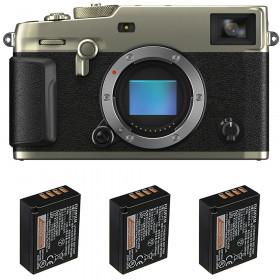 Fujifilm X-Pro3 Cuerpo Dura Silver + 3 Fujifilm NP-W126S