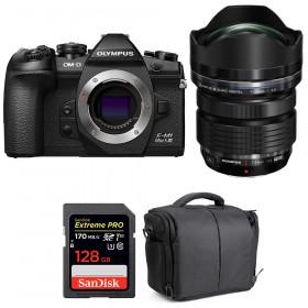 Olympus OM-D E-M1 Mark III + ED 7-14mm f/2.8 PRO + SanDisk 128GB Extreme Pro UHS-I 170 MB/s + Bag   2 Years Warranty