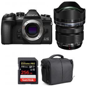 Olympus OM-D E-M1 Mark III + ED 7-14mm f/2.8 PRO + SanDisk 256GB Extreme Pro UHS-I 170 MB/s + Bag   2 Years Warranty