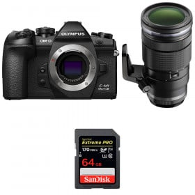 Olympus OM-D E-M1 Mark III + ED 40-150mm f/2.8 PRO + SanDisk 64GB UHS-I 170 MB/s   2 Years Warranty