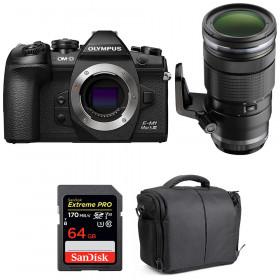 Olympus OM-D E-M1 Mark III + ED 40-150mm f/2.8 PRO + SanDisk 64GB UHS-I 170 MB/s + Bag   2 Years Warranty