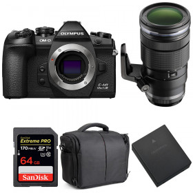 Olympus OM-D E-M1 Mark III + ED 40-150mm f/2.8 PRO + SanDisk 64GB UHS-I 170 MB/s + BLH-1 + Bag   2 Years Warranty