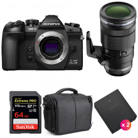 Olympus OM-D E-M1 Mark III + ED 40-150mm f/2.8 PRO + SanDisk 64GB UHS-I 170 MB/s + 2 BLH-1 + Sac